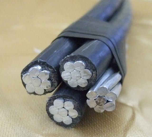 Aluminum Conductor XLPE Inslation ABC Cable 25mm2 35mm2 50mm2