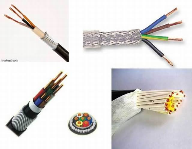 Control Cable Multi Core 1.5mm2 2.5mm2 XLPE Insulation or PVC Insulation Type