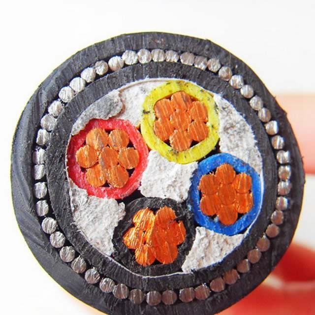Copper Conductor XLPE Insulated Electrical Power Cable