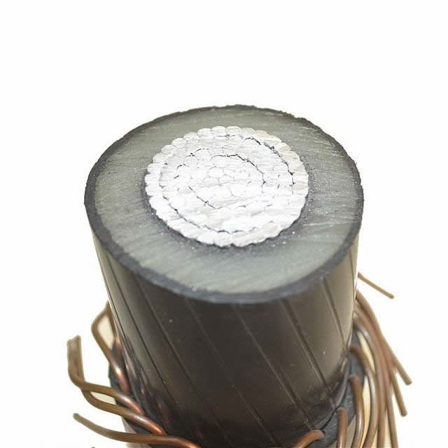 Cu Conductor Epr Insulation Nderground Distribution XLPE Armoured Power Cable Mv-90 15kv