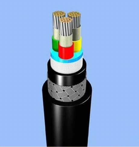 Epr Insulated Csp Sheathed Shipboard Power Cable