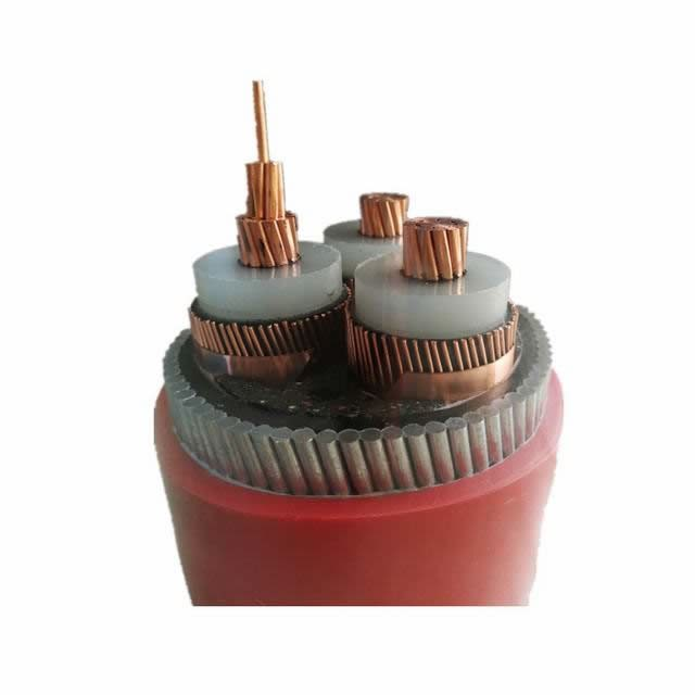 High Voltage Cable 3 Core Power Cable 185mm2 Copper XLPE Electrical Cable