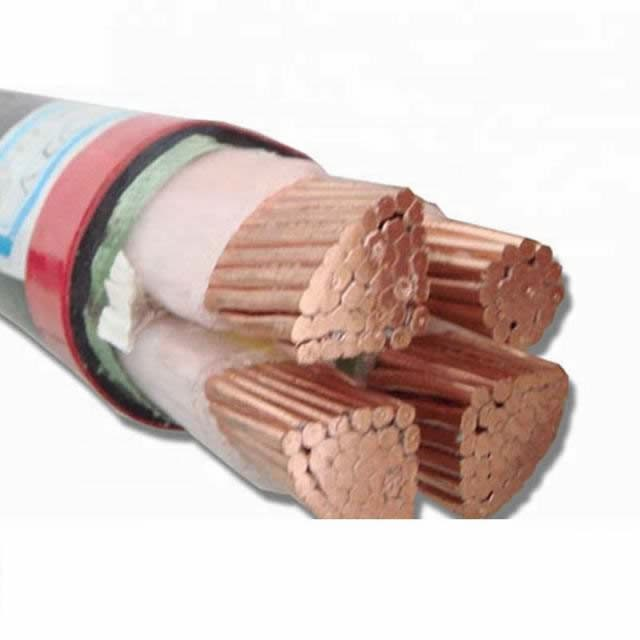 IEC Standard 0.6/1kv XLPE Insulated PVC Sheathed Yjv Power Cable