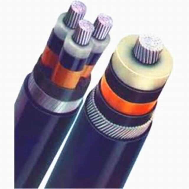 Medium Voltage Power Copper or Aluminum Conductor XLPE Insulation Copper Wire or Copper Tap Screen PVC or PE Sheath