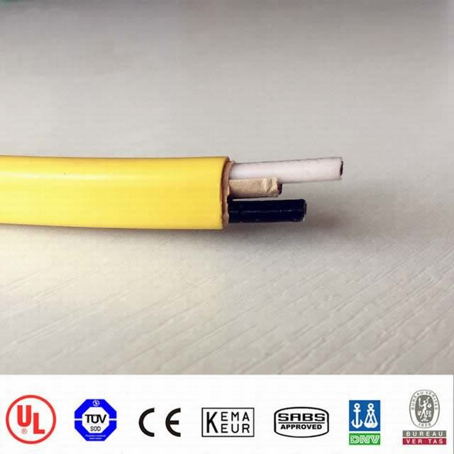 Nm-B Cable (Round) 600V Copper Conductors PVC Insulation Nylon Jacket Color-Coded PVC Jacket Nonme 14-3AWG