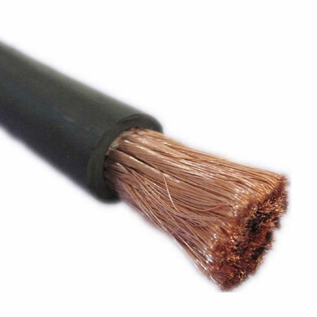 Orange Rubber Insulation Copper Super Flexible Welding Cable