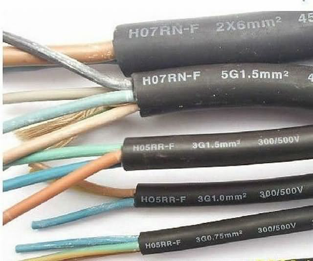 Soft Rubber Flexible Cable From Experienced Manufacturer H07rn-F