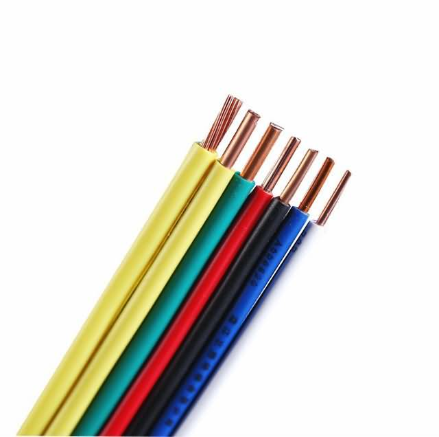 Type Hdt/Twp/Sgt Bare Copper Wire, Stranded, with PVC Insulation 10AWG 12AWG 14AWG