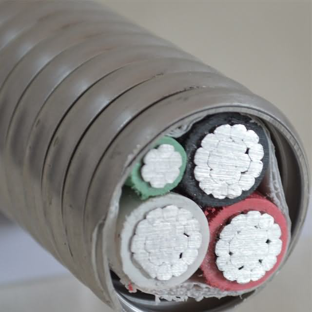 UL Mc Armoured Aluminum Cable