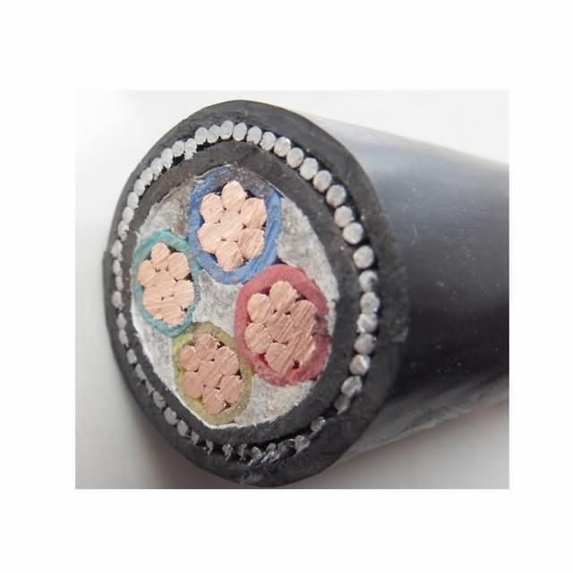 XLPE/PVC Insulated PVC Sheathed 4 Core 50mm PVC Power Cable