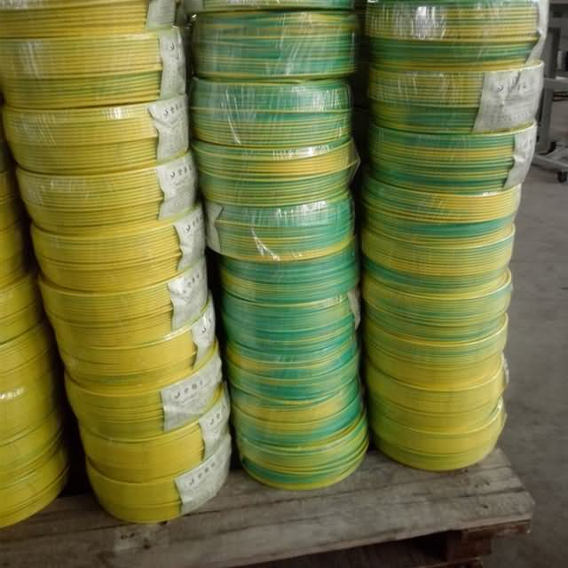 Yellow Green Grounding PVC Insulated Cable
