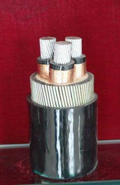 33kv Aluminium Core XLPE Insulated Unarmoured Power Cable (YJLV)