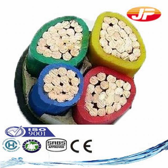 Copper Conductor PVC Insulated PVC Sheathed Armoured Cable