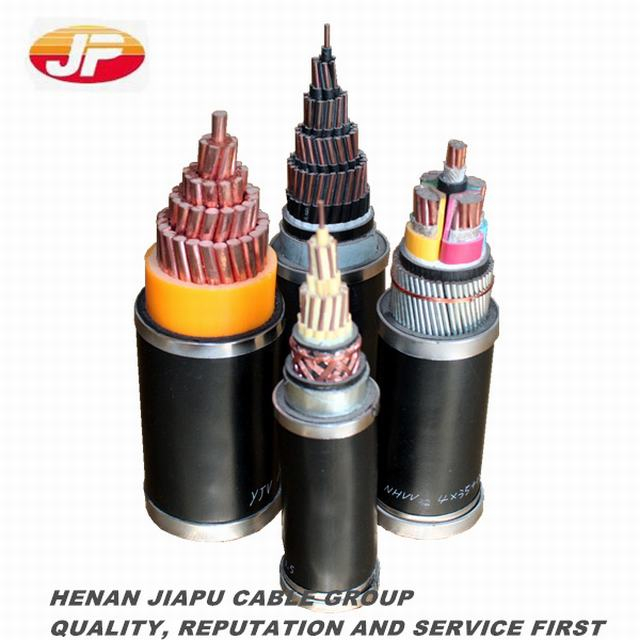Cu Core XLPE Insulated Steel Wire Armored Power Cable