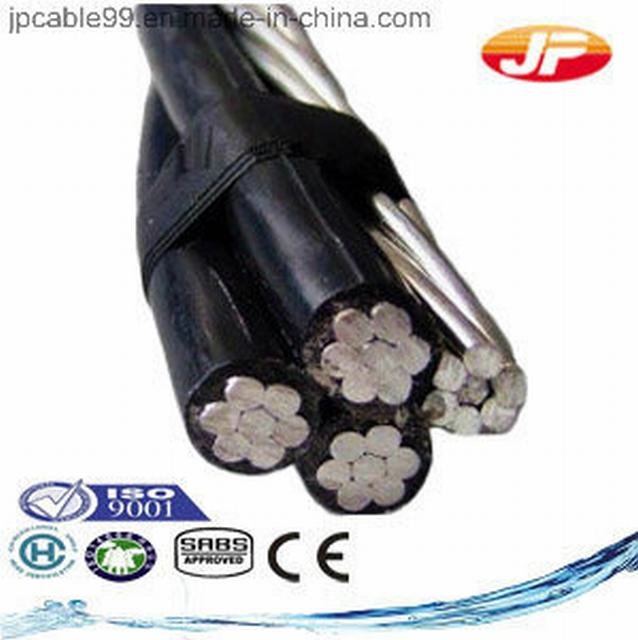 Icea Approved Aluminum Conductor XLPE Insulated Wire ABC Cable