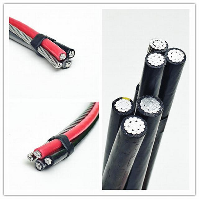 0.6/1kv ASTM Standard XLPE Insulation Aluminum Cable for Overhead Transmission Line