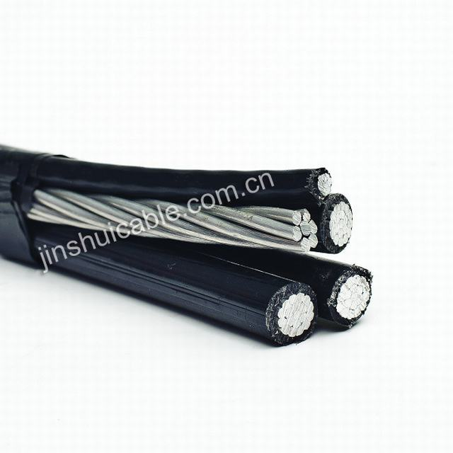 0.6/1kv Aluminum Core PE Insulated Cable Overhead