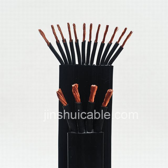 0.6/1kv Flat Rubber Copper Cable