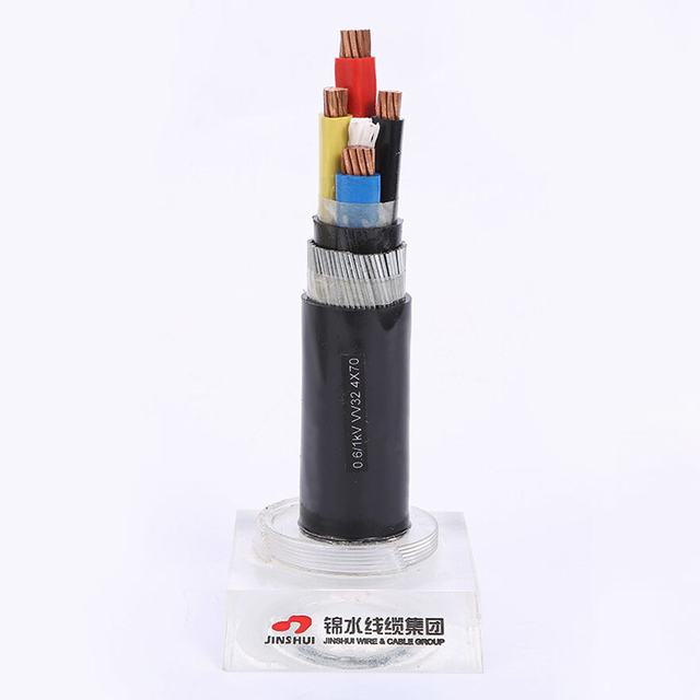 4 Core Fire Resistant XLPE Insulation Flame Retardant Sheath Power Cable for Sale