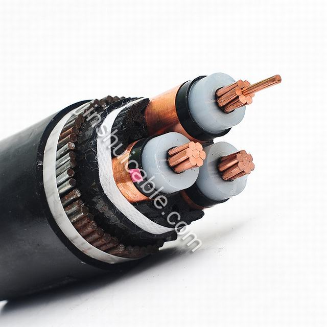 6/10kv XLPE Insulation Electric Power Cable IEC 60502