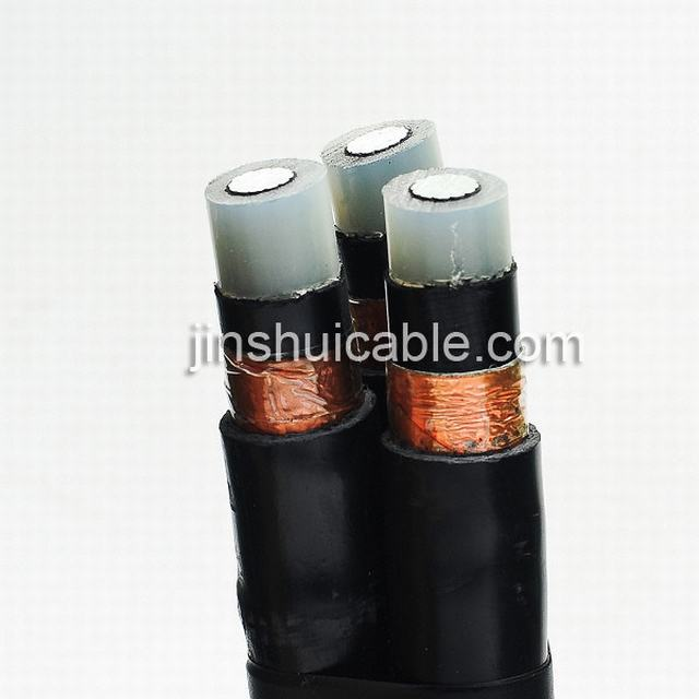 Middle Voltage High Voltage Cable Aluminum/XLPE/Cws/PVC XLPE Cable 240mm2