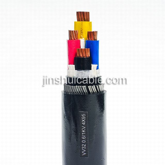 PVC Insulated PVC Sheathed Electrical / Power Flexible Cable