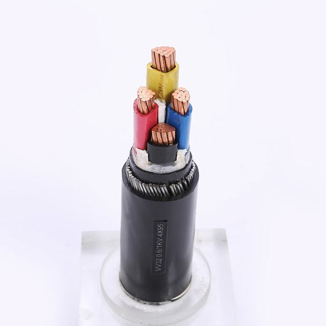 PVC Insulated Power Cable Copper Conductor 4 Cores