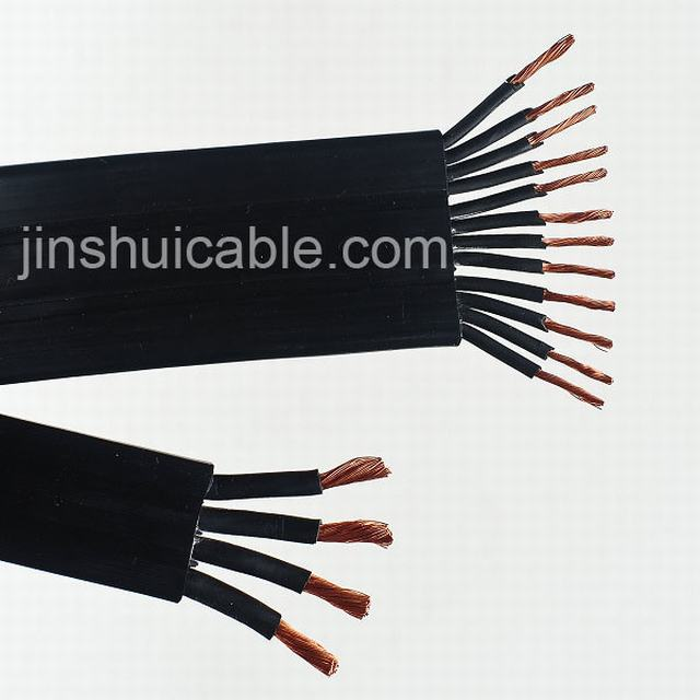 Rubber Sheathed Electrical Copper CCA Conductor Welding Cable