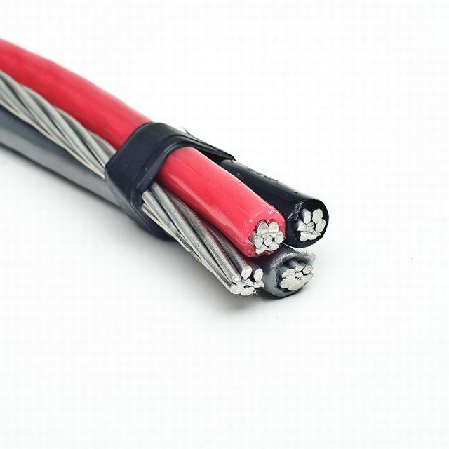 XLPE Insulated Triplex Service Drop-Aluminum Conductor, Overhead ABC Cable