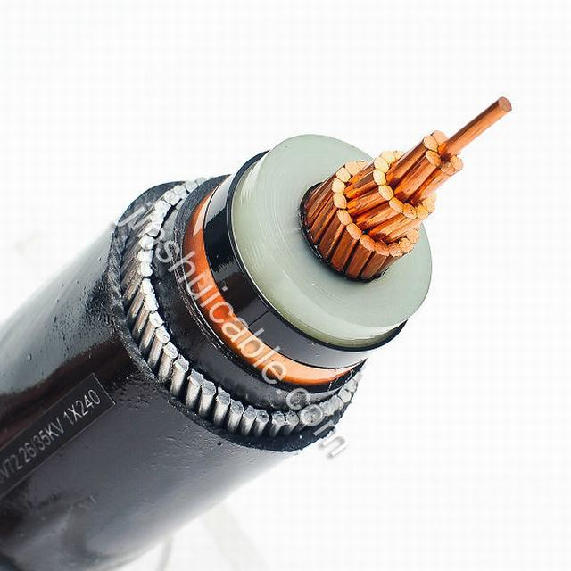 XLPE Insulation PVC Jacket Amoured Power Cable Medium Voltage
