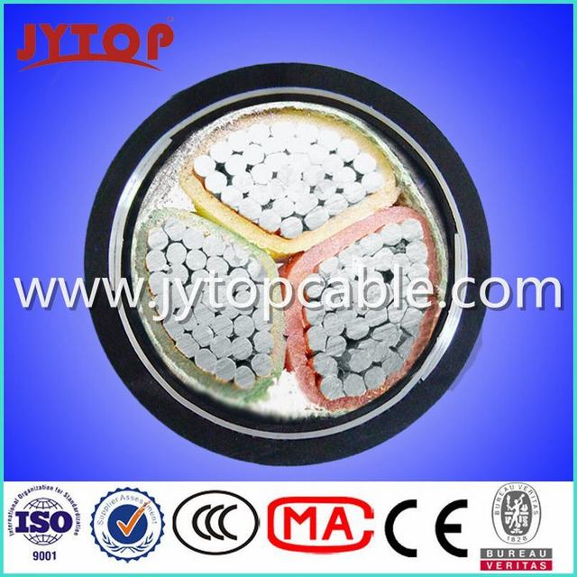 0.6/1kv Armored Cable 3X120mm Aluminum Cable with Steel Tape Armored