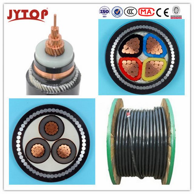 15kv Copper XLPE Insulated Swa Steel Wire Armored Power Cable