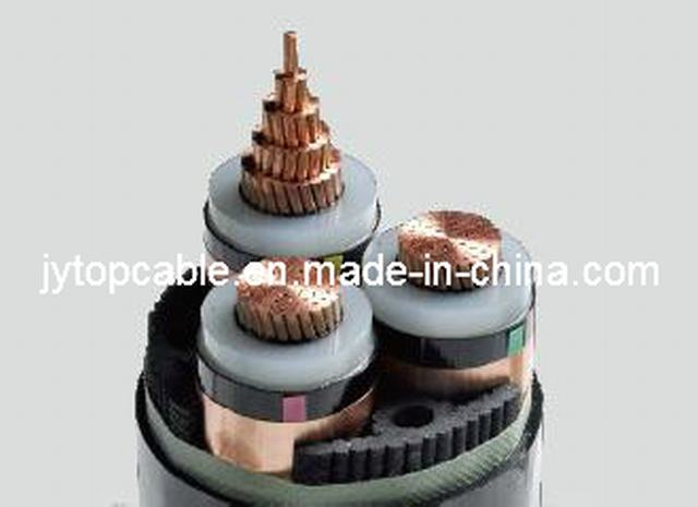 26/35kv Copper Conductor XLPE Insulated Power Cable 3X240