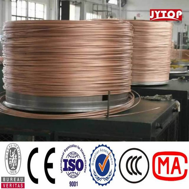 4/0 3/0 2/0 1/0 Bare Copper Cable Copper Clad Aluminum Conductor CCA Wire