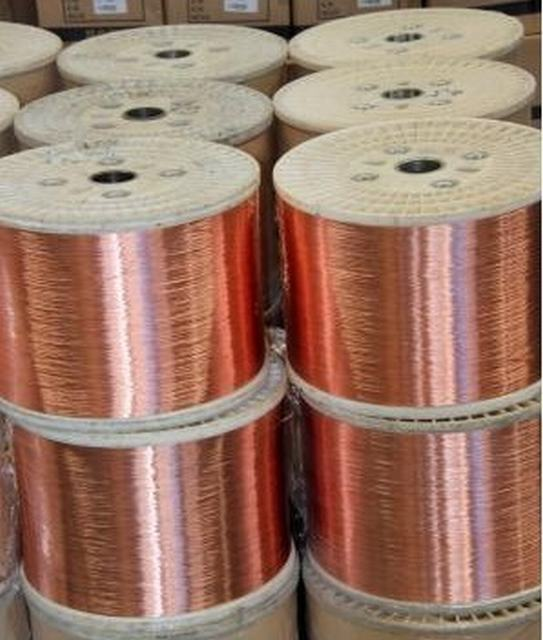 8mm 25mm 6mm Copper Wire CCS Copper Clad Steel