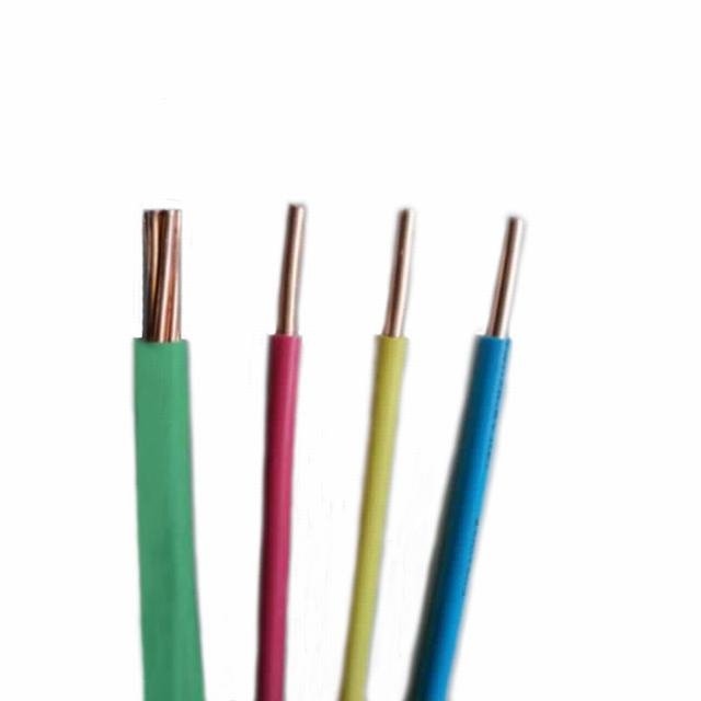 Ce Certificate Copper PVC Jacketed Electric Building Wire and Cable