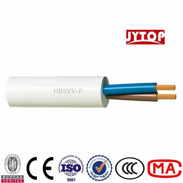 H03VV-F Cable Specification PVC Insulation Cable with Jacket