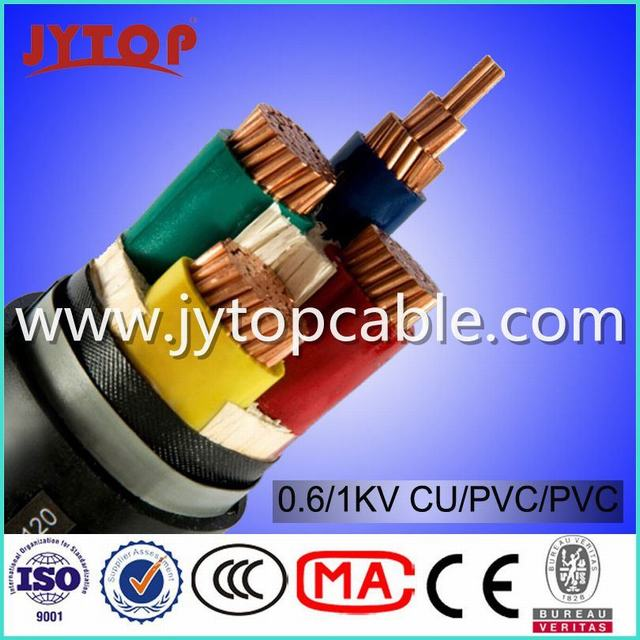 LV 0.6/1kv Nyy-J Cable 4X70mm with Ce Certificate