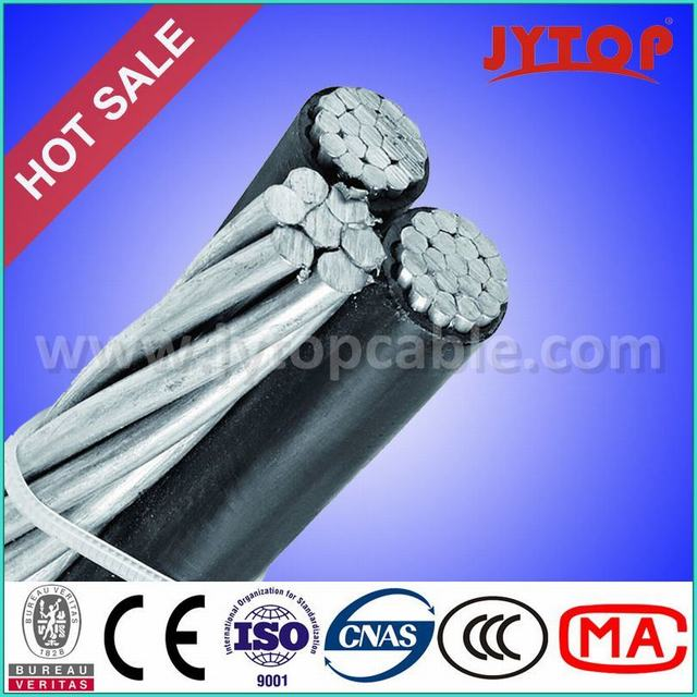 Low Voltage Aerial Bundled Cable Triplex ABC Cable for Overhead Transmission