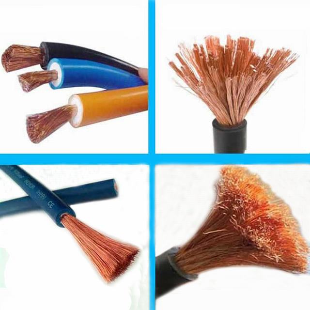 Low Voltage Rubber Insulated Flexible Electric Welding Cable
