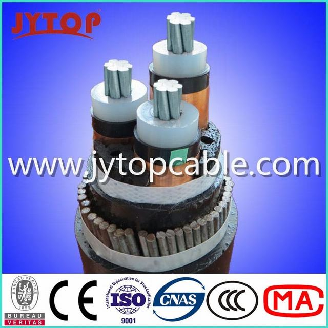 Middle Voltage Mv 15kv Aluminum Conductor XLPE Insulated Electric Cable