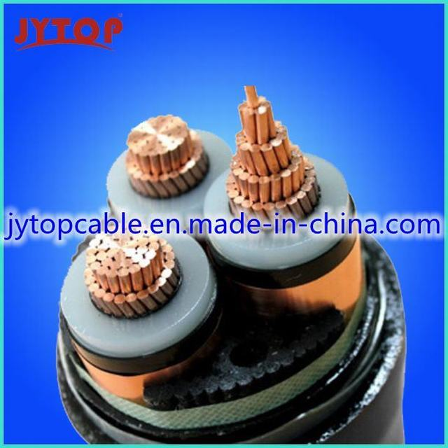 Middle Voltage Mv 8.7/15kv Copper Conductor XLPE Insulated Power Cable