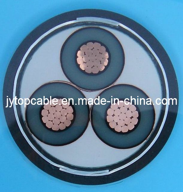Mv 11kv XLPE Insulated Armored Power Cable 3X95sq. mm