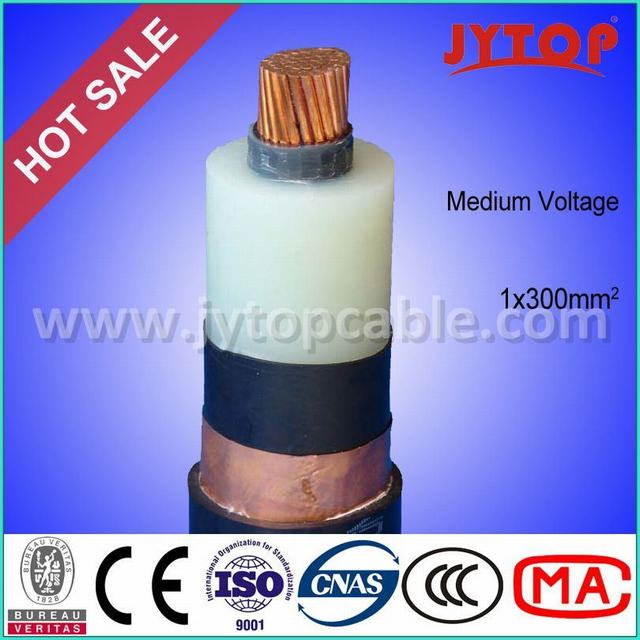 Mv Copper Conductor XLPE Insulated Power Cable for Single Core