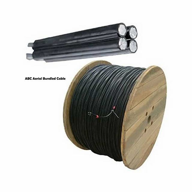 Overhead Aluminum Conductor XLPE Insualted Aerial Bundled ABC Cable