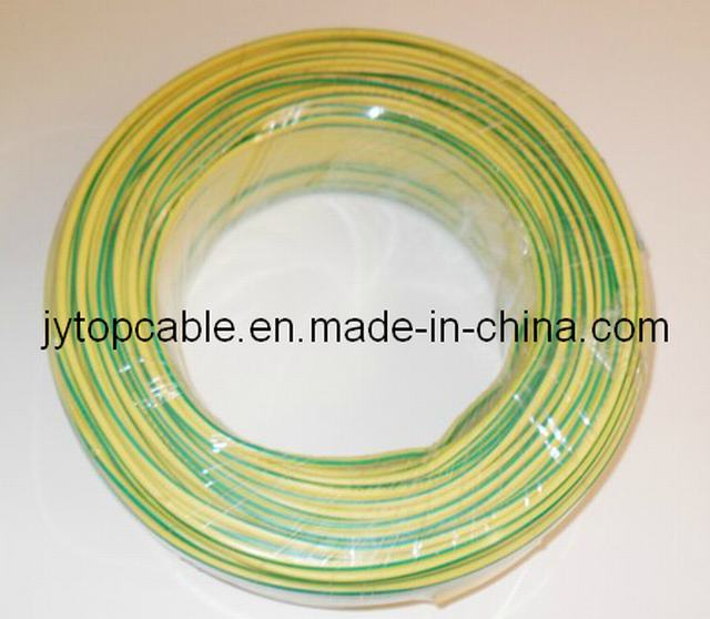 PVC Insulated Earth Wire Yellow/Green Wire Electric Wire