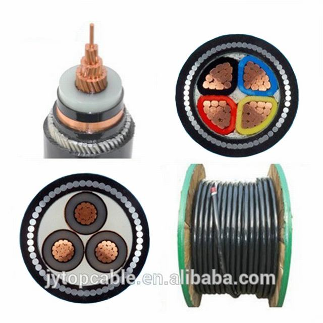 XLPE Insulation Swa Steel Wire Armoured Underground Electrical Power Cable