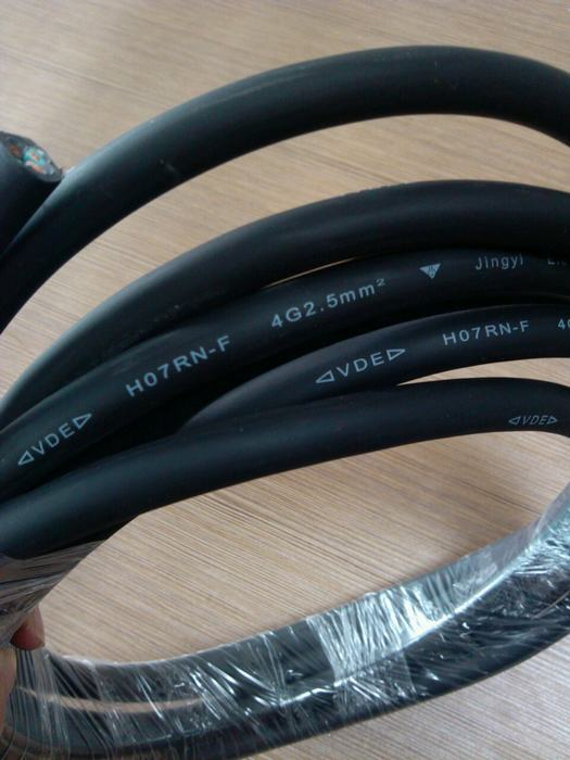 H05rn-F H07rn-F H07FF-F 3 Core 4 Core 5 Core Electric Flexible Rubber Cable