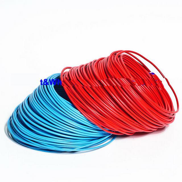 H07V-R Heating Round Conduit Wire Light /& Power Black 4mm Single Core 6491X