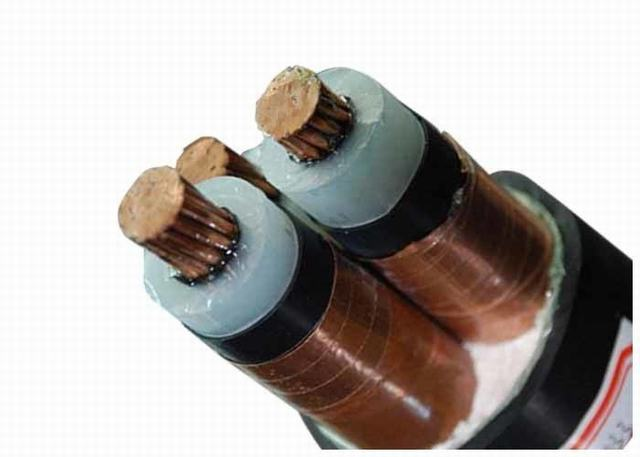 3 Core XLPE Insulated PVC Sheathed Cable with Copper Tape Screen Medium Voltage Power Cable